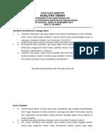 Kualitas Tanah Ujian Akhir Semester 2015