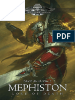 Mephiston Lord of Death - David Annandale