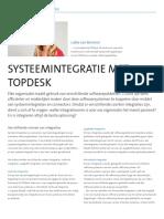Systeemintegratie met TOPdesk