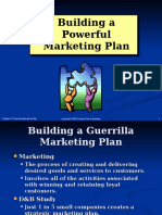 Chapter 8 Guerrilla Marketing Plan