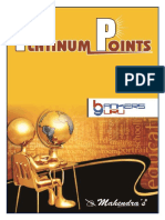 Platinum Points English