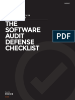 The Software Audit Defense Checklist | 1E