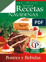 84 Recetas Navideñas, Postres y Bebidas -Mariano Orzola