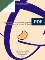 Aplicación de la interacción carbohidrato-proteína al aislamiento de lectinas de fuentes naturales
