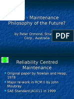 Presentation of rcm