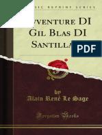 Avventure DI Gil Blas DI Santillana 1300013232
