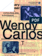 Wendy Carlos Interview