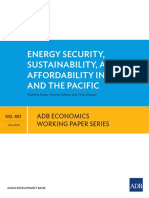 ewp-401ENERGY SECURITY, SUSTAINABILITY, AND AFFORDABILITY IN ASIA AND THE PACIFIC