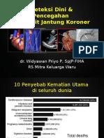 Deteksi Dini Dan Pencegahan Penyakit Jantung Koroner - Rumah Sakit Mitra Keluarga Waru