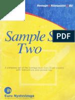 b2 Sample Set TwoEuroExam