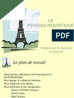 La Psycholinguistique