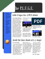 the P.L.U.G.E. - March 2010