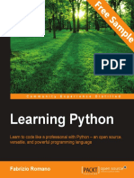 Learning Python - Sample Chapter