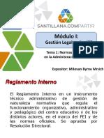 2- Normas Que Influyen en La Administracion Educativa