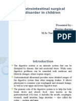 Gastrointestinal Surgical Disorder in Children [Autosaved]