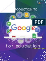 Introduction to Google for Education