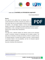 Risk and Uncertainty an Introductory Approach