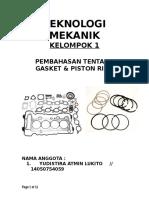 Teknologi Mekanik Kel. 1