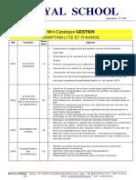 Comptabbilite Finance Mini Catalogue
