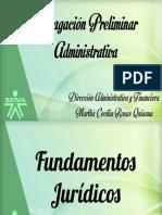 Indagación Preliminar Administrativa