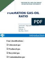 gas oil ratio