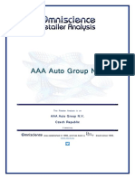 AAA Auto Group N v Czech Republic