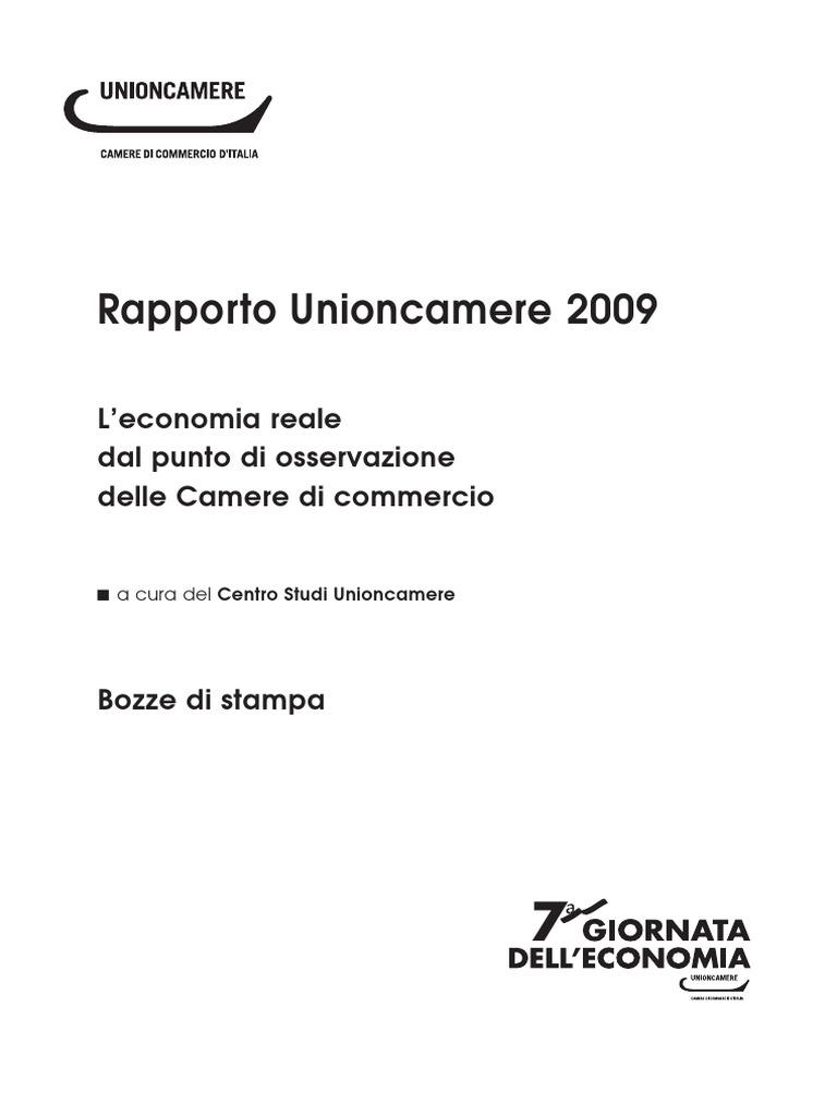 UNIONCAMERE rapporto ECONOMIA REALE 2009.pdf 2ecc7d090107