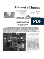 Harvest of Justice Winter 2015