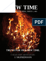 NEW TIME (THE SOLSTICE WELL, ISSUE 1, 46)