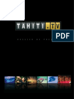 Tahiti.tv, dossier de presse (15 septembre 2008)