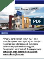 Pengembangan Biogas Di KPSBU
