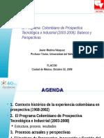 Estructura Prospectiva Tecnologica Colombia