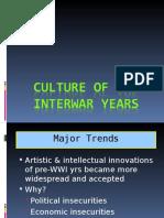 The politics of Interwar Period