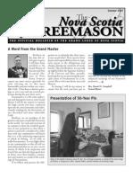 Boletín de Nova Scotia Freemason