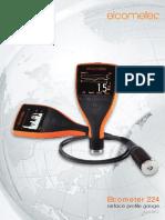 Elcometer 224 Surface Profile Gauge