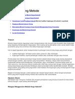 14. Hedonic Pricing Metode