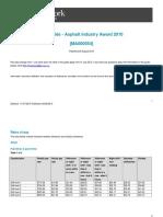 Asphalt Industry Award Ma000054 Pay Guide