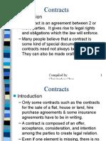 Contracts I (19 Slaytlık Sunum)