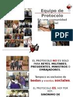 Equipo Del Perpetuo Etiqueta y Protocolo