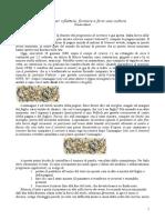 Articolo 01 Scrivere Per Riflettere, Formare e Farsi Una Cultura