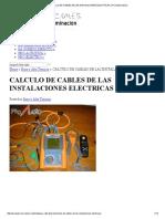CALCULO DE CABLES DE LAS INSTALACIONES ELECTRICAS _ Pro Audio Galicia.pdf