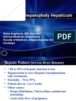 Hepatic Enchepalophaty (GSH)