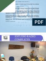 Presentacion Radio Complices Comuna El Carmen[1]