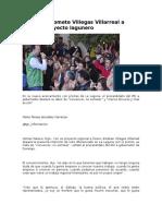 17.12.15 Promete Villegas Villarreal a Priistas Proyecto Lagunero