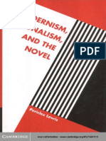 Lewis Pericles Modernism, Nationalism, And the Novel