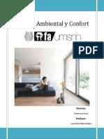 Análisis Ambiental y Confort