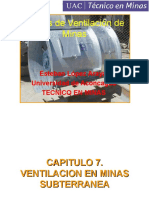 8-Clase de Ventilacion de Minas