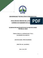 Marco Teórico y Metodología Bocaditos de Zucchini