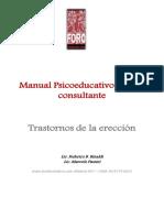 Manual Psicoeducativo Disfuncion Erectil