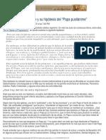 El Padre Julio Meinvielle y Su Hipótesis Del Papa Pusilánime (2)
